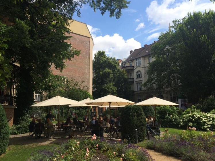 Cafe Wintergarten next to Literaturhaus