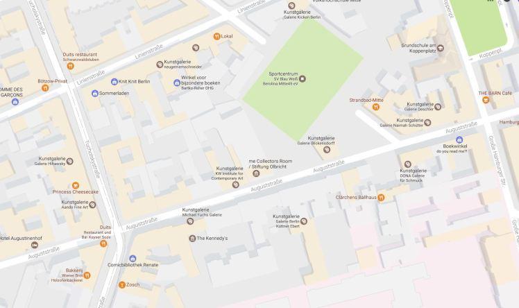 Zoveel op zo'n klein stukje Berlin Mitte