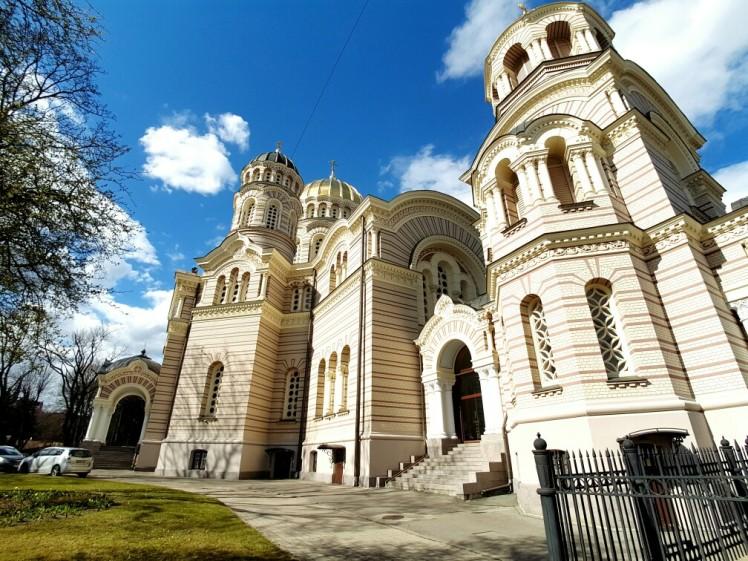 Oude gebouwen genoeg in Riga