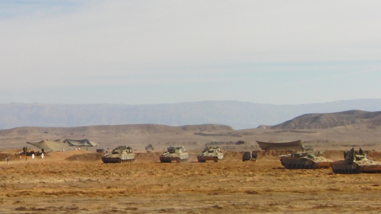 Tanks in Israël