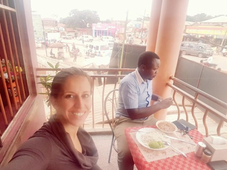 Lunch Kampala Oeganda